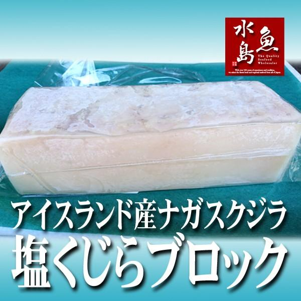 塩くじら 汐クジラ 鯨 ブロック塊 500g