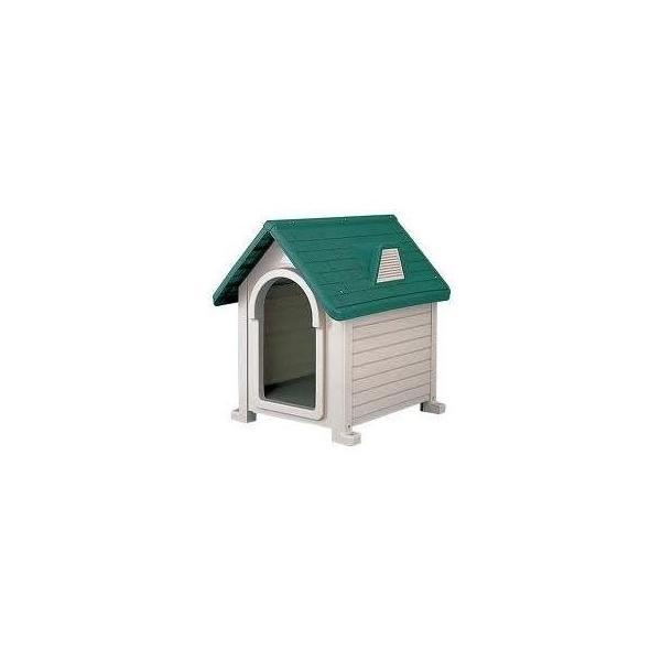 リッチェル 犬小屋 ドッグハウス 室外 屋外 ペットハウスDX-490 (超小型犬〜中型犬用)