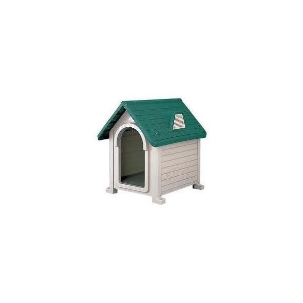 リッチェル 犬小屋 ドッグハウス 室外 屋外 ペットハウスDX-580 (超小型犬〜中型犬用)