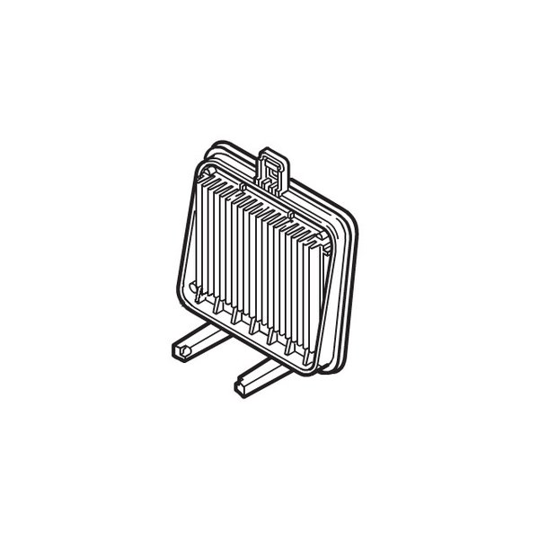 パナソニック Panasonic サイクロン掃除機 プリーツフィルター AMV77J-D40