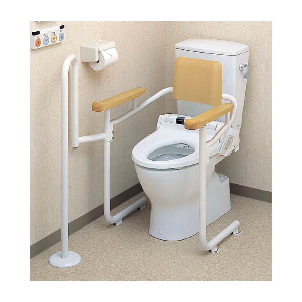 TOTO 【EWCS223-7】トイレ用手すり(システムタイプ) アシストバー・背もたれ付[新品]