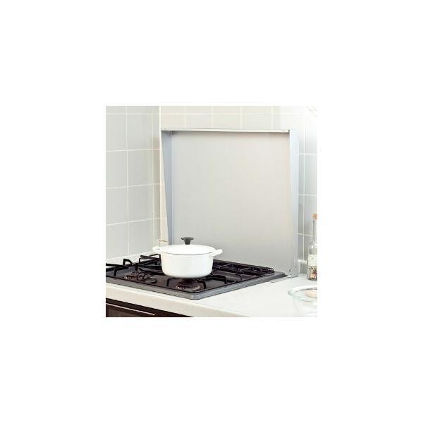 池永鉄工システムキッチンビルトインコンロ用コンロカバーIK2-60S60cmシルバー