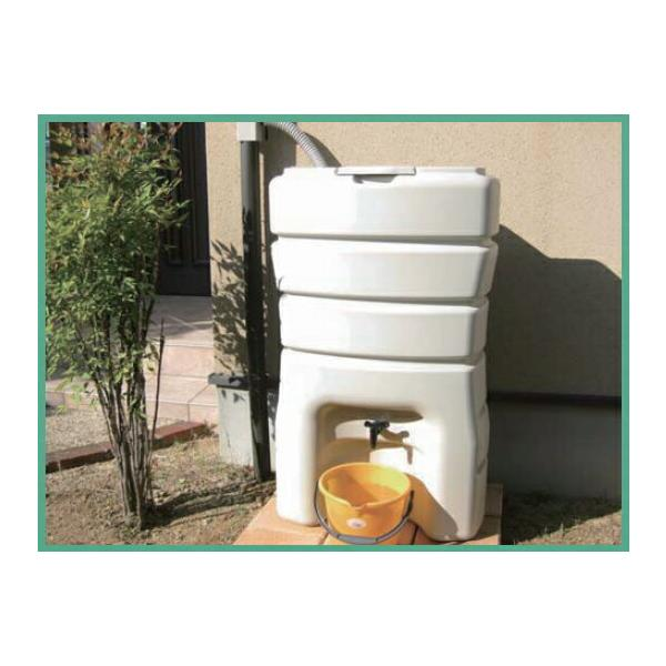 丸一株式会社 雨水貯留タンク まる 140 まる(丸どい、角どい兼用) スタイリッシュでコンパクトなボディに140Lの雨水を貯水。[新品]