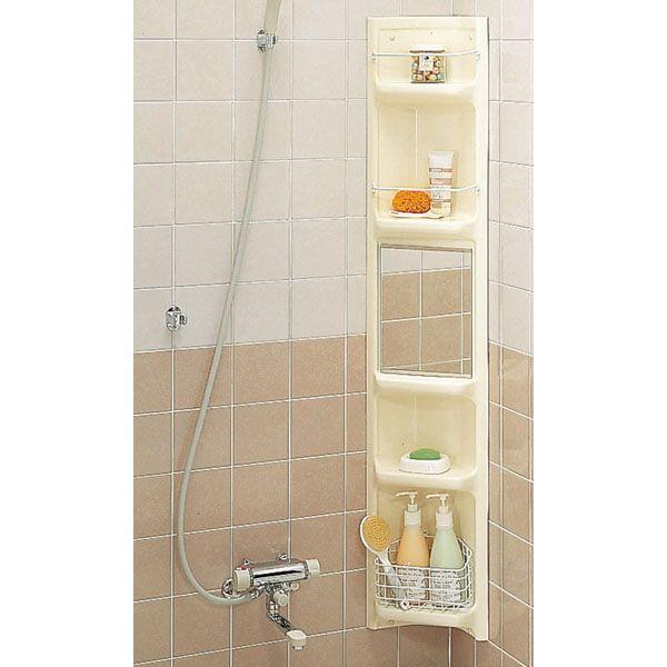 【直送商品】INAX LIXIL・リクシル アクセサリー 浴室収納棚 YR-221G[新品]〈メーカー直送のみ・代引き不可・NP後払い不可〉