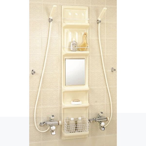 【直送商品】INAX LIXIL・リクシル アクセサリー 浴室収納棚 YR-316G[新品]〈メーカー直送のみ・代引き不可・NP後払い不可〉