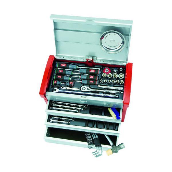 KTC 12.7sq.工具セット(チェストケース) SK4580E