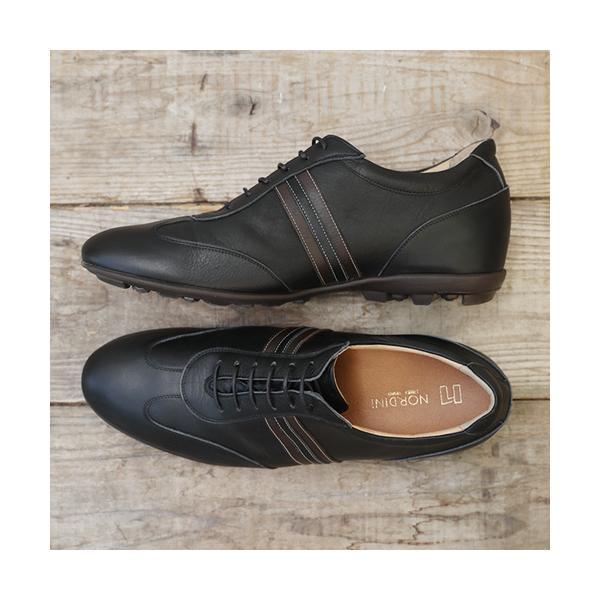 シークレットスニーカー レザースニーカー メンズ 本革 国産 牛革 レイヤーライン 5cmアップ No.899|up-shoes|19