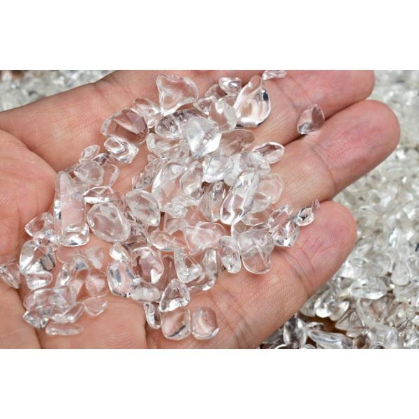 ヒマラヤ水晶 さざれ(インド産)(1kg2180円) ヒマラヤ水晶さざれ 水晶 さざれ|up-stone|04