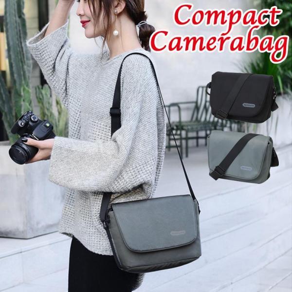 カメラバッグ一眼レフミラーレスショルダー女子カメラ女子コンパクトミニ巾着シンプルカメラケース
