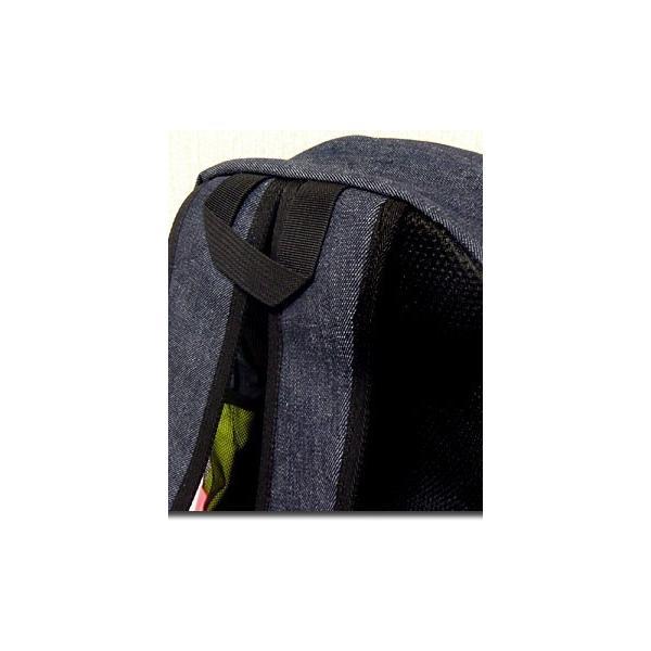 メンズバッグ バッグ カラフルなネオンカラーで今季注目度大 非常に大きなメガジップファスナー付き切替えデイバッグ|update|10