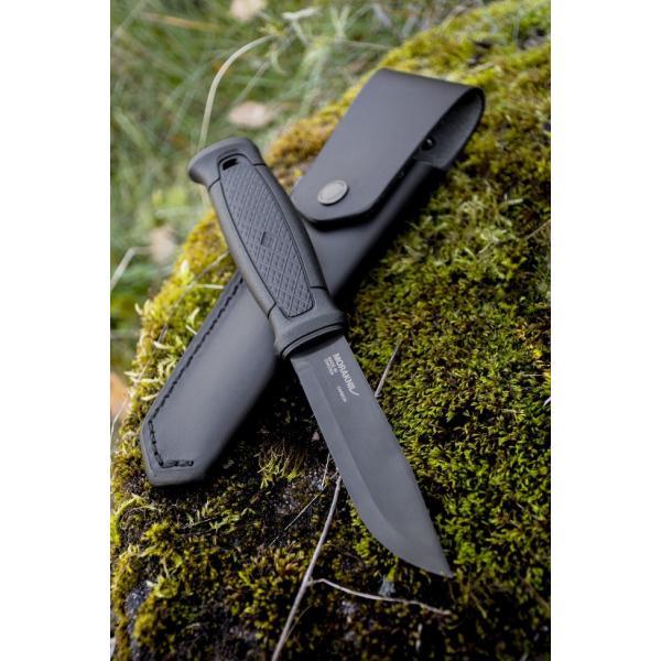 Morakniv Garberg Black Carbon Leather sheath モーラナイフ ガーバーグ ブラックカーボン レザーシース|upi-outdoorproducts|03