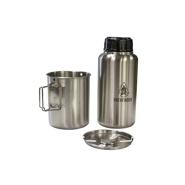 PATHFINDER パスファインダー 950ml ボトル&カップセット 正規品|upi-outdoorproducts