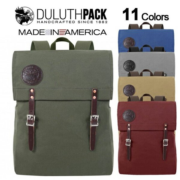 【NEW】Duluth Pack Scoutmaster Pack ダルースパック スカウトマスターパック(Wing)|upi-outdoorproducts