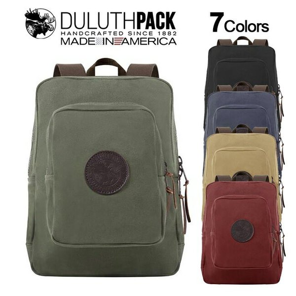 Duluth Pack Medium Standard Daypack ダルースパック ミディアム スタンダード デイパック|upi-outdoorproducts