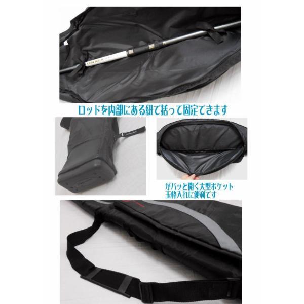 リールイン ソフトロッドケース 130cm 4051竿袋・竿ケース・竿収納・軽量・折り畳みss12