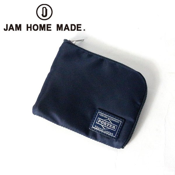 release date: 49b80 daae6 JAM HOME MADE ジャムホームメイド 沖嶋 信 - MODEL × PORTER WALLET ポーター ウォレット 財布