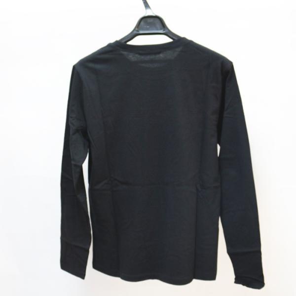 GUESS ゲス ロンT Tshirt エンボス加工ロゴロングTシャツ 長袖 メンズ レディース ユニセックス MI2K9409LS|upper-gate|04