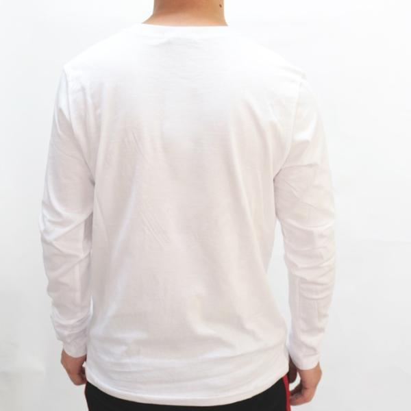 GUESS ゲス ロンT Tshirt エンボス加工ロゴロングTシャツ 長袖 メンズ レディース ユニセックス MI2K9409LS|upper-gate|05