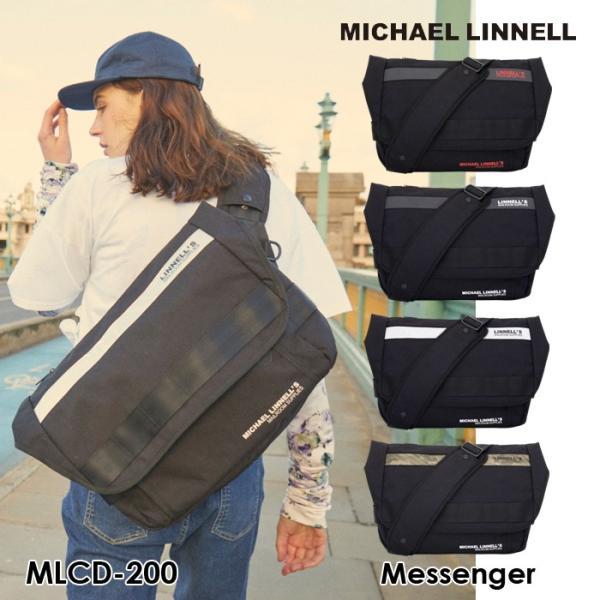 マイケルリンネル メッセンジャーバッグ Messenger MLCD-200 ショルダーバッグ バッグ ビジネス 通勤 通学