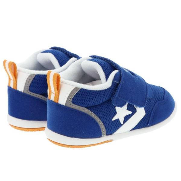 2acadecc7a289 ... コンバース ミニ RS ベビー ブルー 男の子 女の子 靴 CONVERSE ベビーシューズ ファーストシューズ 人気 おすすめ 即納