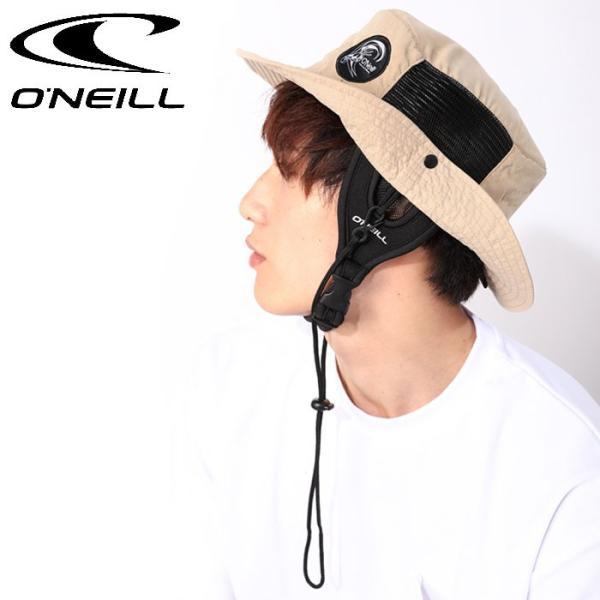 cba707b31bb4 サーフハット オニール マリンハット メッシュ 帽子 ビーチハット ベージュ ONEILL HATの画像