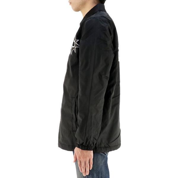 3811124da8ed ... アウター ボルコム VOLCOM メンズジャケット 黒 ブラック 裏ボア カジュアル コーチジャケット upsports  ...
