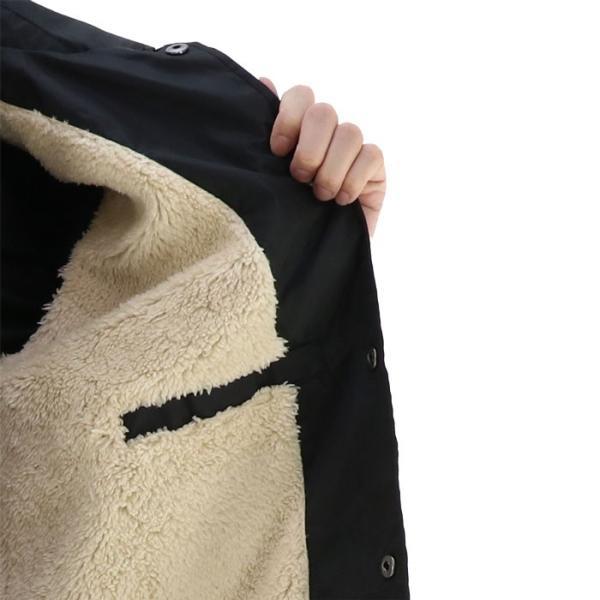 bf616215f170 ... アウター ボルコム VOLCOM メンズジャケット 黒 ブラック 裏ボア カジュアル コーチジャケット upsports 05