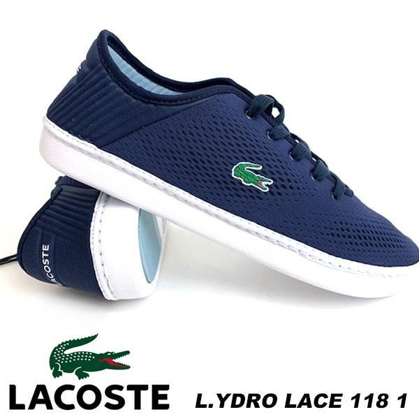 即納可☆ 【LACOSTE】ラコステ 特価 L.YDRO LACE 118 1 メンズ 軽量 スニーカー CAM0068
