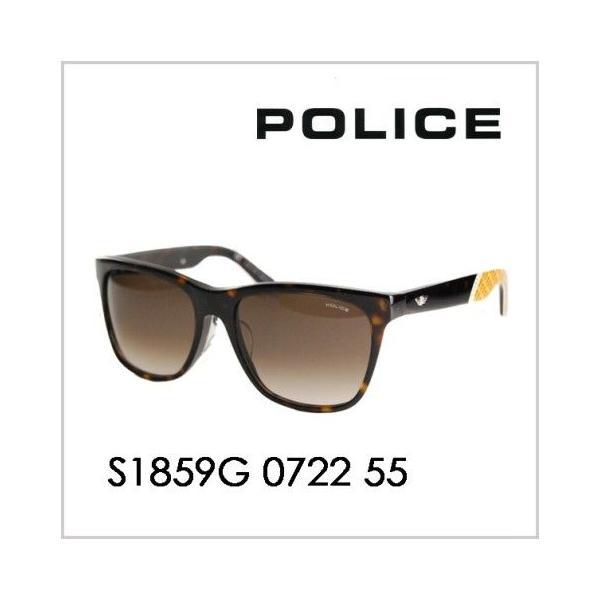 b3cf1ccc2c82 【OUTLET☆SALE】アウトレット セール ポリス POLICE S1859G 0722 55 サングラス 2014年モデル ...