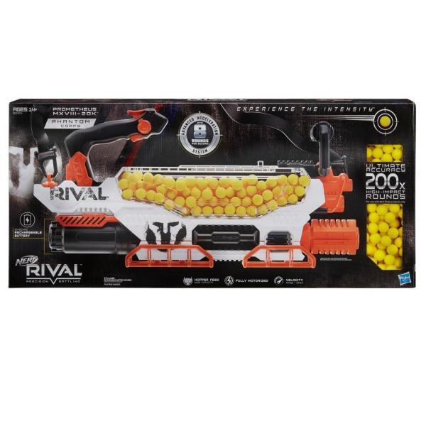 NERF Rival Prometheus MXVIII 20K Blaster ナーフライバルのプロメテウス MXVIII 20K ブラス