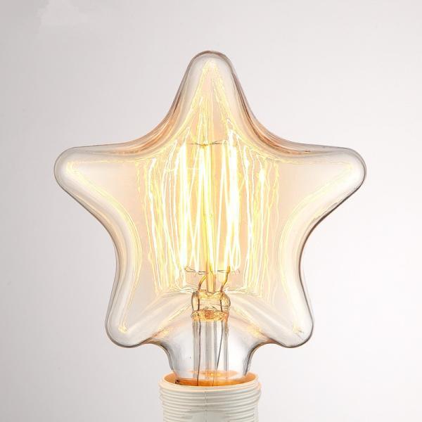 LED 電球 E26 4w 40w相当 星型 フィラメントクリア 広角で360度全体発光