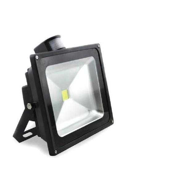 LED人感センサーライト、カーポート照明 屋外照明50w 500w相当時間調整可能 昼白色