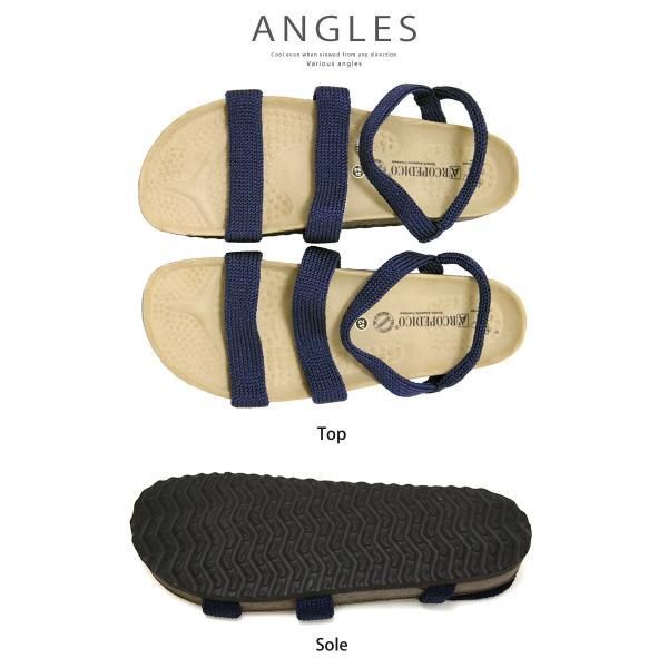 コンフォートサンダル アルコペディコ ARCOPEDICO サルーテライン サンダル メンズ靴  KIRYA キルヤ レディース|urbene|05