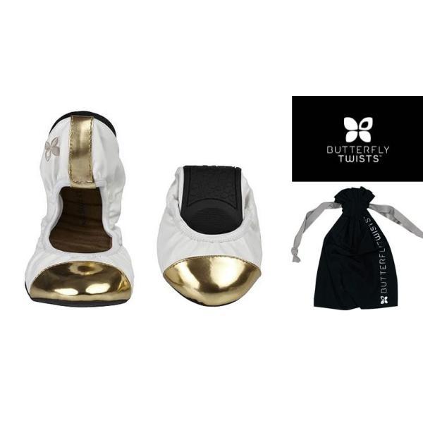バタフライツイスト バレエシューズ BUTTERFLY TWISTS KATE メタリック ルームシューズ レディース靴 パンプス urbene 02