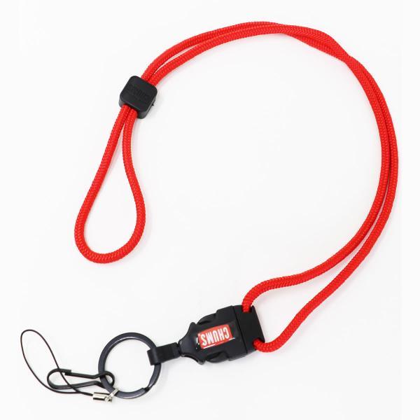チャムス ネックストラップ CHUMS ニューランヤードロープ New Lanyard rope (CH61-0113) チャムス ストラップ|urbene|05