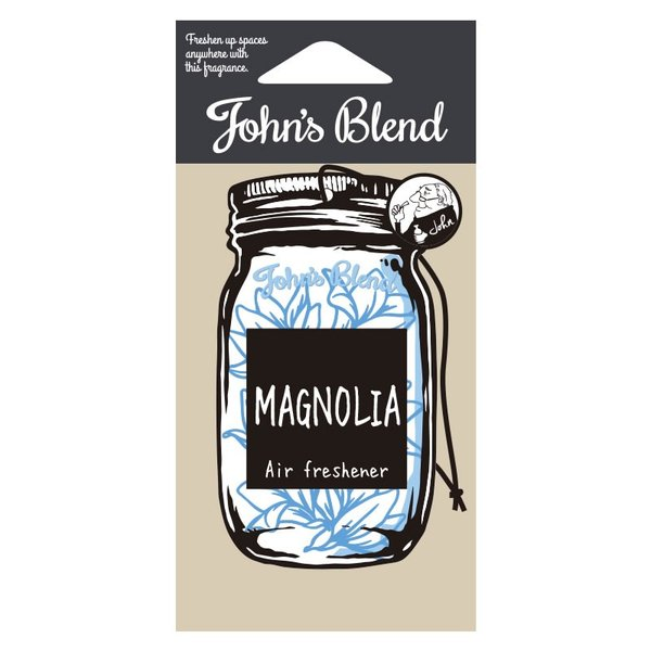 ジョンズブレンド ホワイトムスク 吊り下げエアーフレッシュナー カーフレグランス John's Blend Hanging Air Freshener 芳香剤 おしゃれ|urbene|08