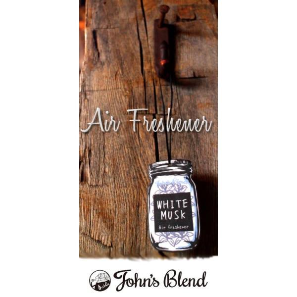 ジョンズブレンド ホワイトムスク 吊り下げエアーフレッシュナー カーフレグランス John's Blend Hanging Air Freshener 芳香剤 おしゃれ|urbene|06