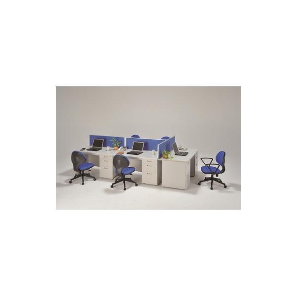 3段片袖机 オフィスデスク 幅1200×奥行700×高700 ニューグレー色 UO-F16 ureshii-office 03