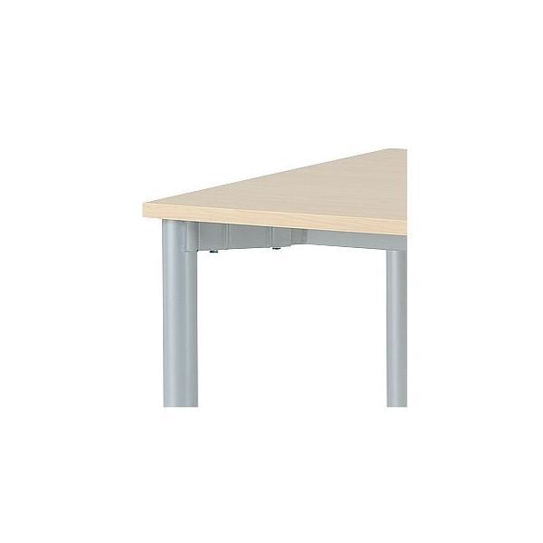ミーティングテーブル 幅1200×奥行600mm×高700 UO4-F126|ureshii-office|03