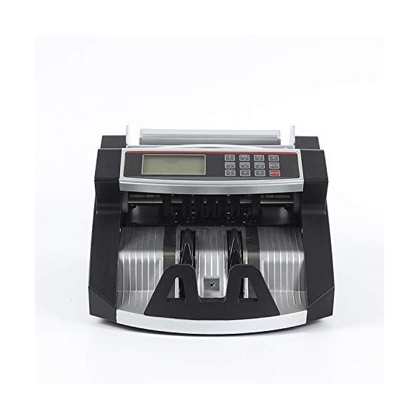 ONE STEP マネーカウンター 自動紙幣計数器 オリジナルカラー お札カウンター ビルカウンター 子機付き 卓上用 ブラック|ureteq|02