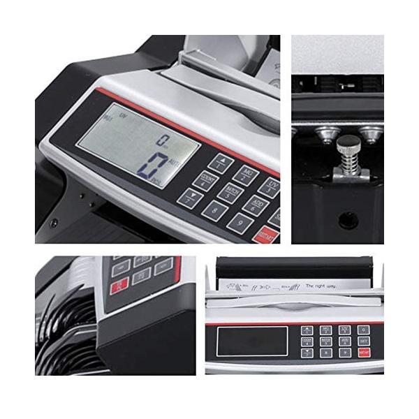 ONE STEP マネーカウンター 自動紙幣計数器 オリジナルカラー お札カウンター ビルカウンター 子機付き 卓上用 ブラック|ureteq|04
