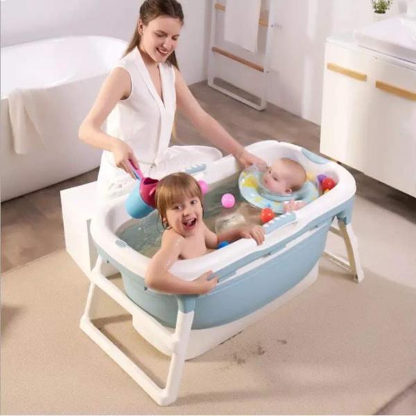 8tail マルチバスタブ 折りたたみ 簡易 浴槽 収納便利 キャンプ 介護 (Bule)|ureteq|03