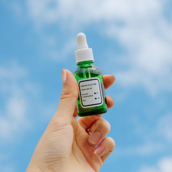 美容オイル スクワラン セラミド 天然植物オイル配合 潤いとハリを与える美容オイル 20ml uruoi-factor