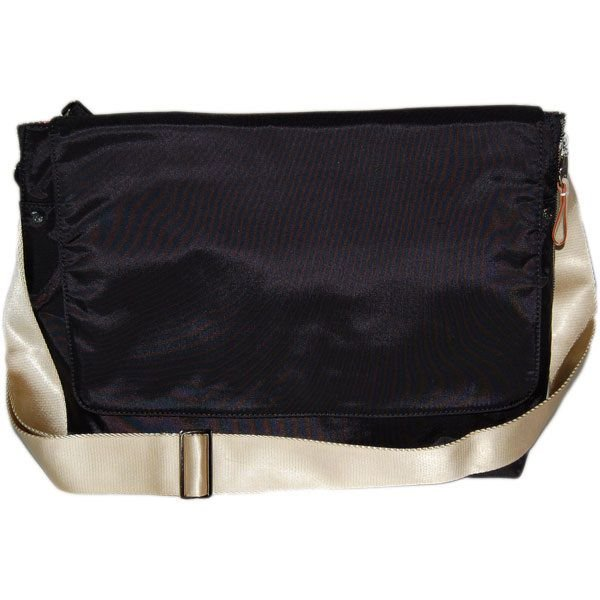アメリカNY発 画期的なマザーズバッグDanzo ダンゾ Messenger メッセンジャー 黒 マザーバッグ 出産祝い キットソン 育メン イクメン