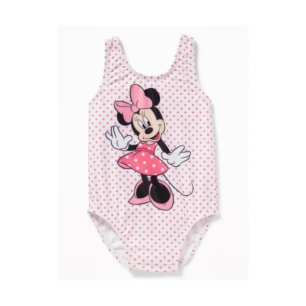 756168b4332 オールドネイビー OLD NAVY 水着 女の子用ピンク水玉模様ミニーマウスワンピース水着 Disney ディズニー