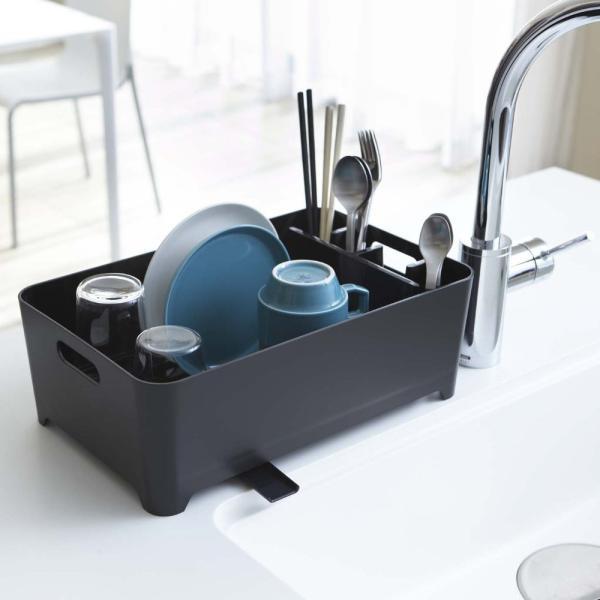 水切りかご 食器 水切り おしゃれ 水切りカゴ 山崎実業|usagi-shop