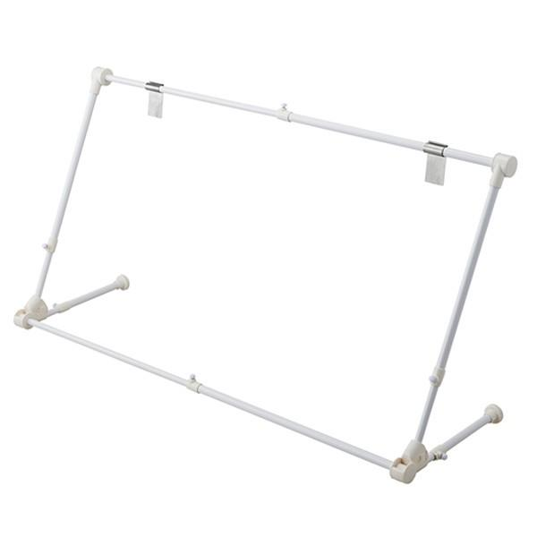 エアコンハンガー 速乾ハンガーラック 室内干し 伸縮ハンガー 折畳み コンパクト収納|usagi-shop|04