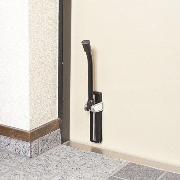 ドアストッパー 玄関 強力 室内 マグネット 磁石 ゴム おしゃれな 扉 黒 ブラック 白|usagi-shop|04
