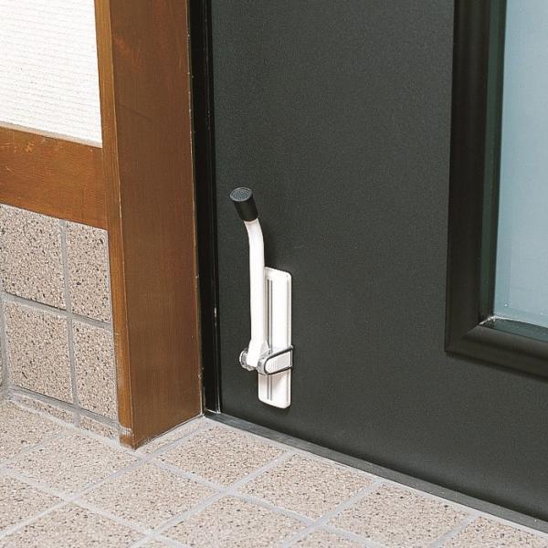ドアストッパー 玄関 強力 室内 マグネット 磁石 ゴム おしゃれな 扉 黒 ブラック 白|usagi-shop|05