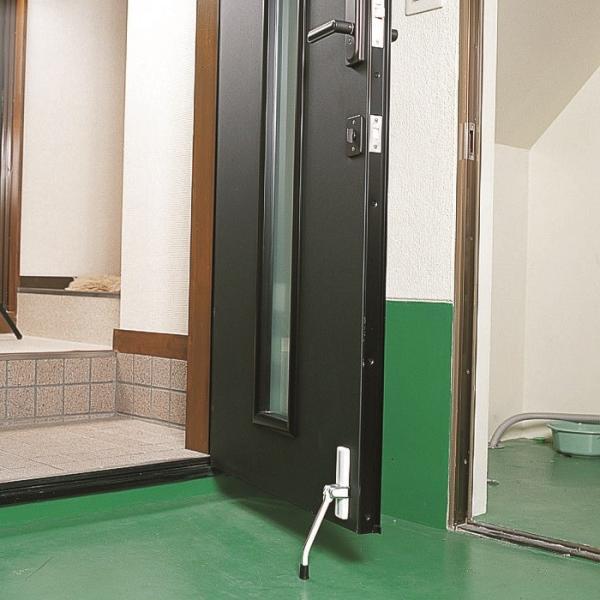 ドアストッパー 玄関 強力 室内 マグネット 磁石 ゴム おしゃれな 扉 黒 ブラック 白|usagi-shop|06